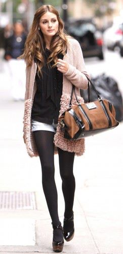 My fall kind of outfit. Ms. Olivia Palermo.