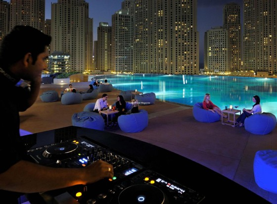 Shades Bar, The Address Hotel at Dubai Marina Mall