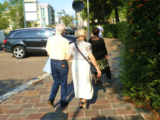 I wish to be like this endearing couple when it's my hair's turn to become silver too.