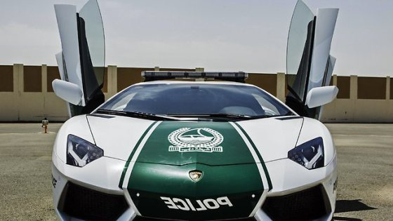 $550 000 USD Lamborghini police car