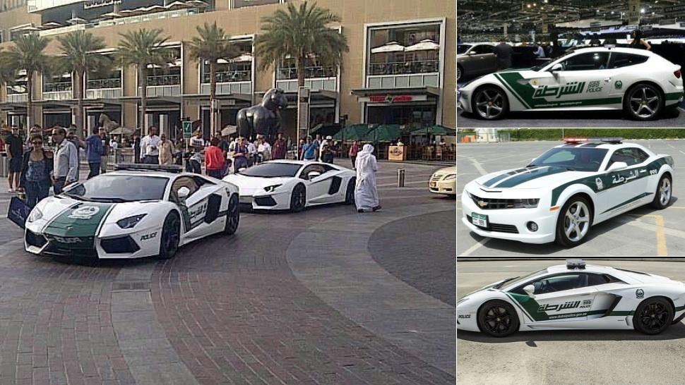 Dubai Police Cars Traveling Sets Me Free