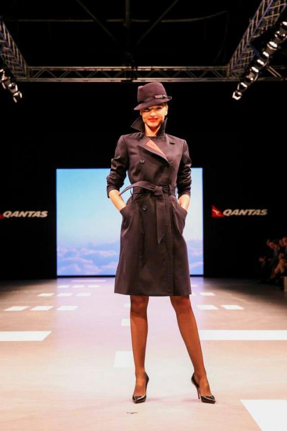 Miranda-Kerr-Qantas-Uniform